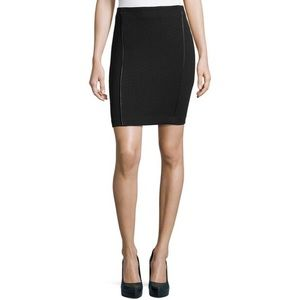 NEW 🔥 Laundry by Shelli Segal Quilted Panel Skirt